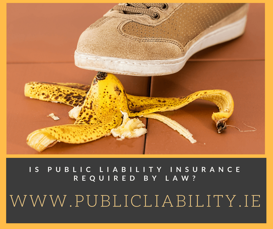 Is Public Liability Insurance Required By Law?